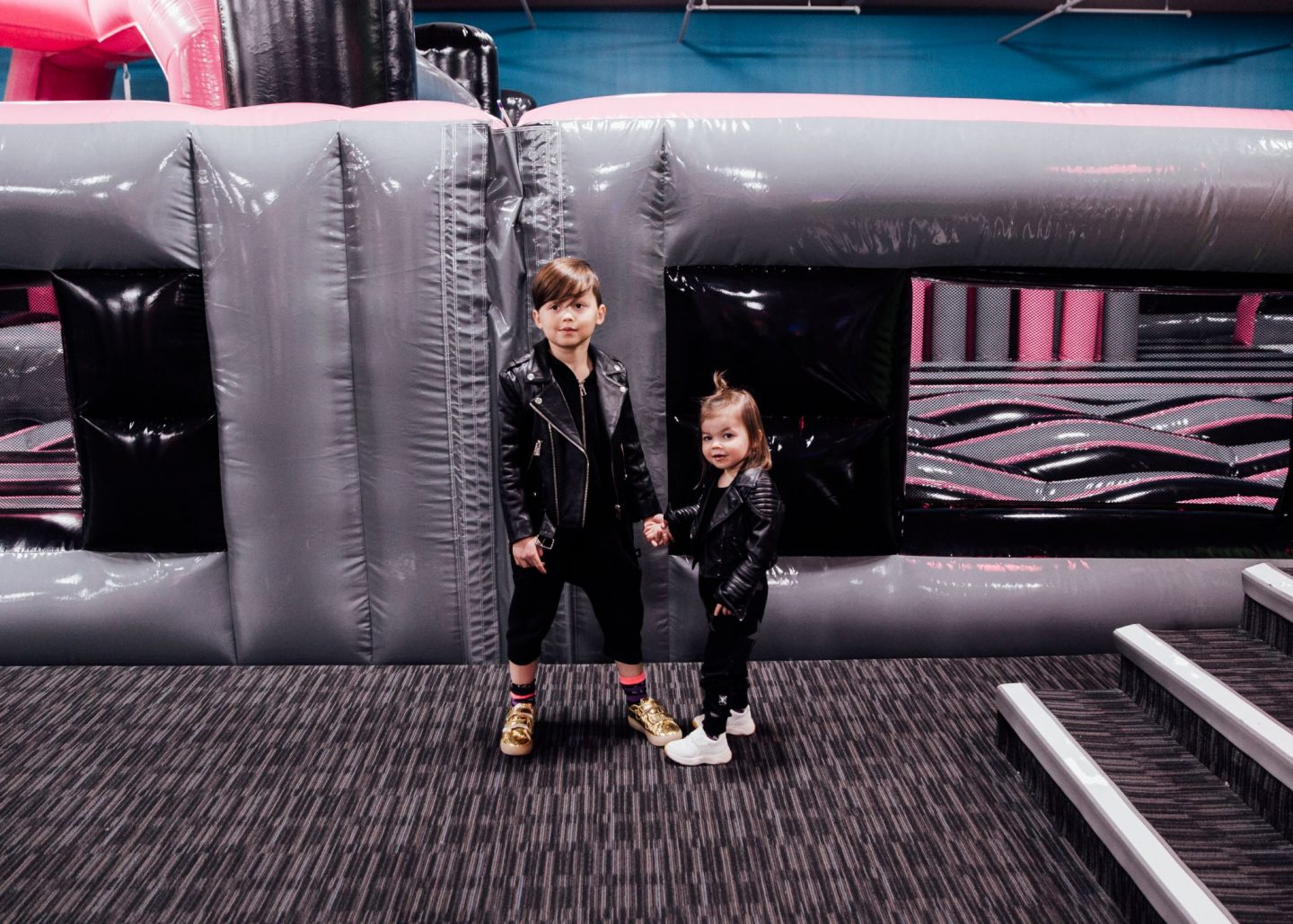 Birthday Party at the World's Largest Indoor Trampoline Park