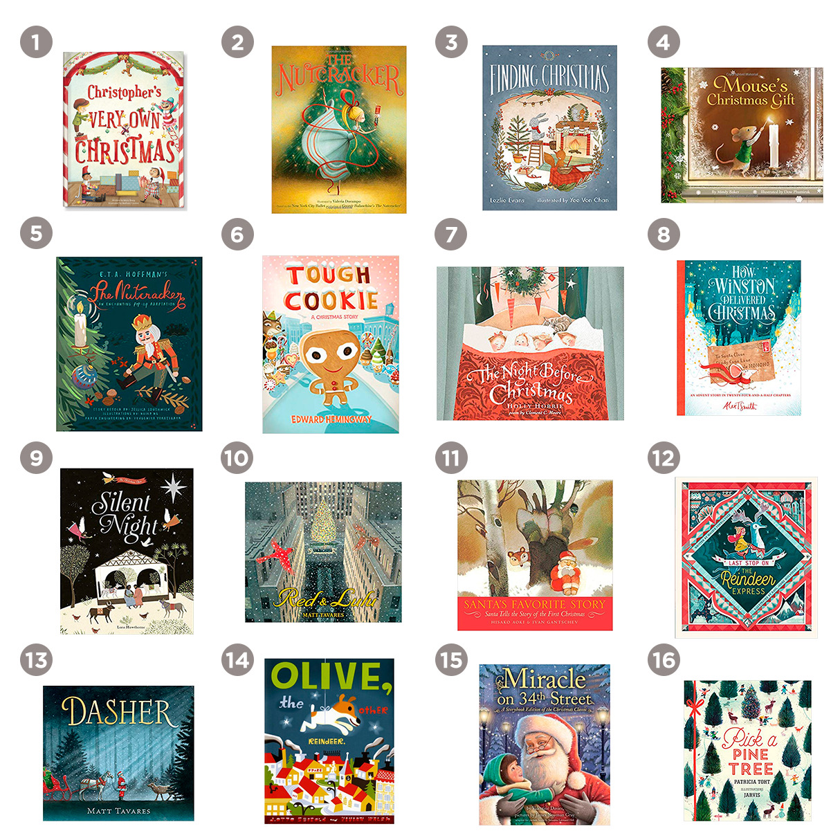 16 best children's christmas books